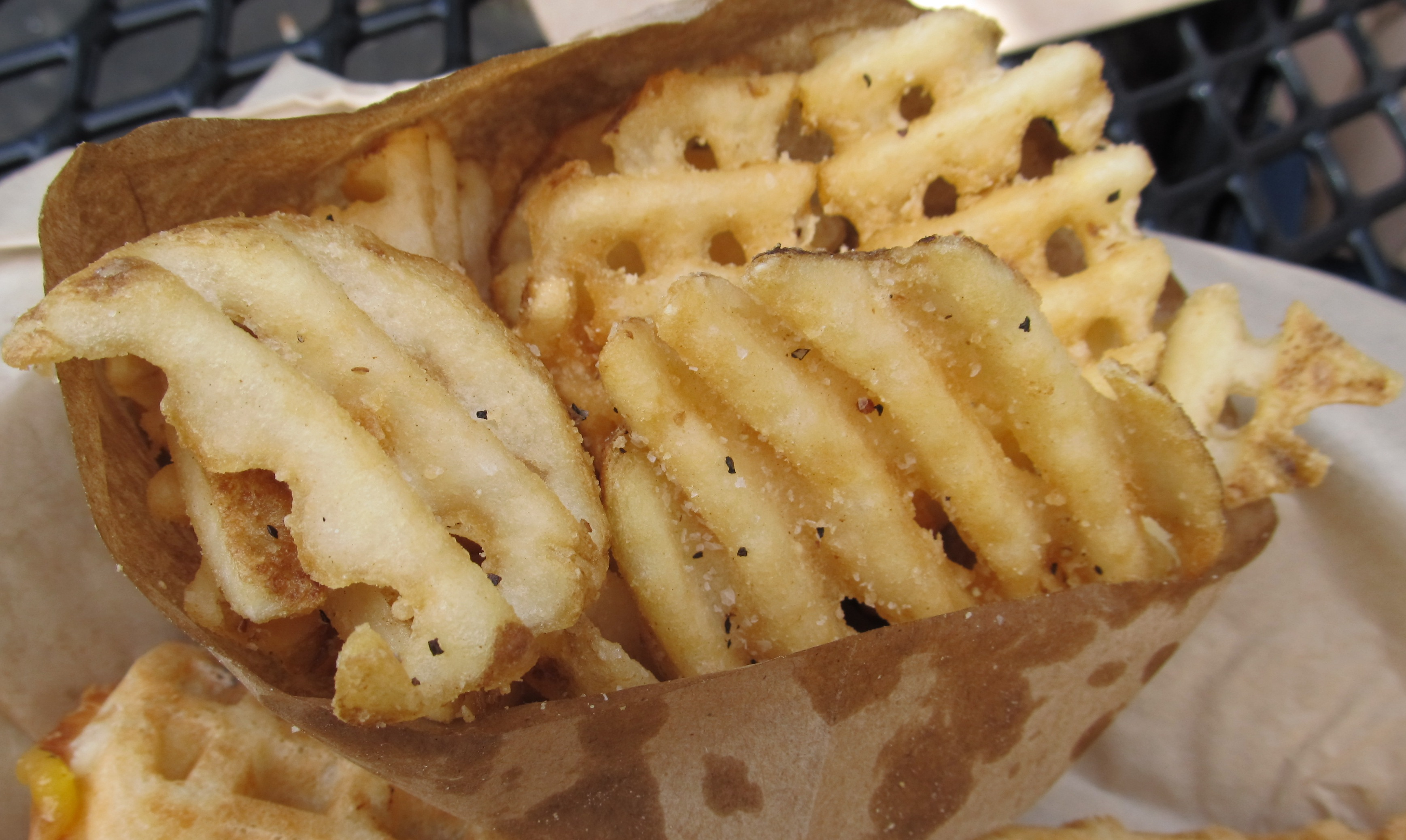 Waffle Fries - the perfect side dish!